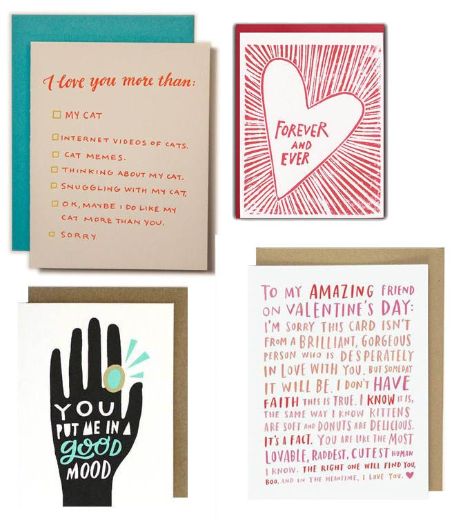 40 valentine's day cards to send to loved ones | design*sponge, Ideas