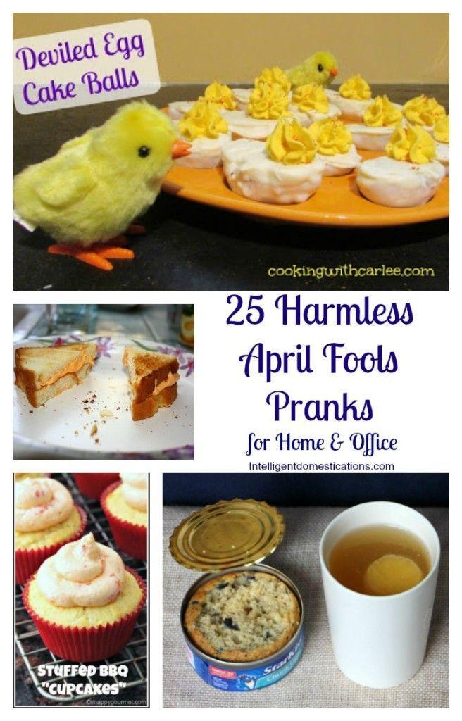 25 Harmless April Fools Pranks | Intelligent Domestications