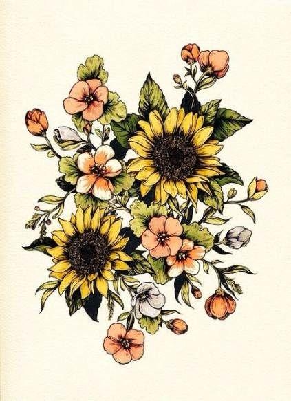 Photo of 49+ Trendy Flowers Tattoo Farbe Oberschenkel