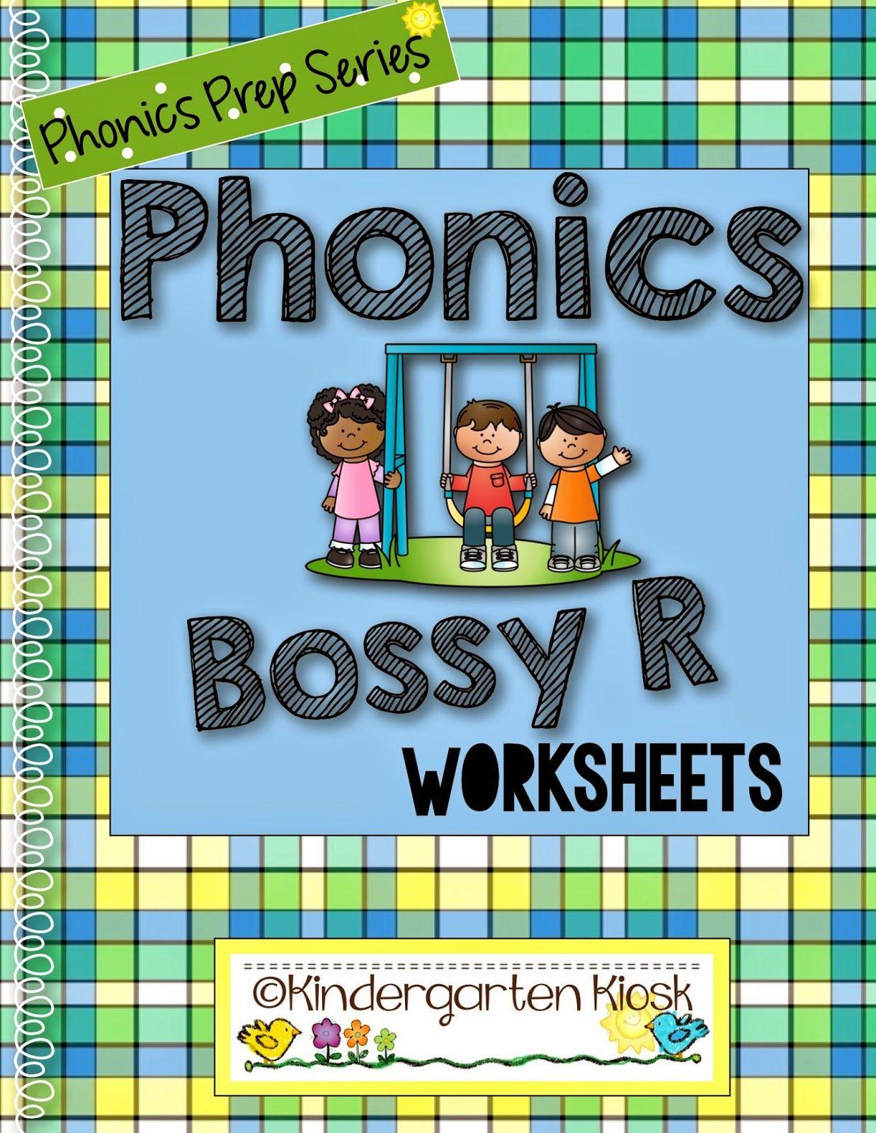 Phonics Prep Bossy R Worksheets