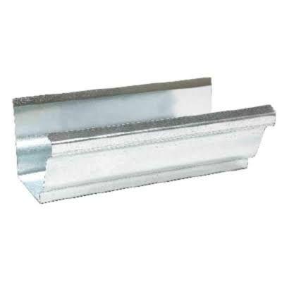 Amerimax K Style Gutter Mill F 4 X 10 Galvanized Steel Galvanized Galvanized Gutters