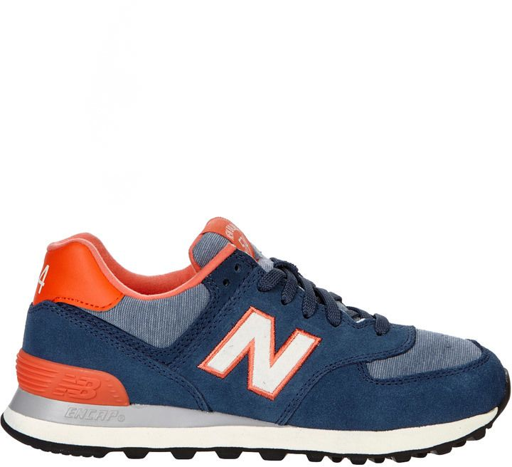 info for b4a13 87764 New Balance - Turnschuhe - Blau   Marine