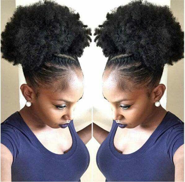 Puff 2 Natural Hair Styles Easy Natural Hair Updo Natural Hair Styles