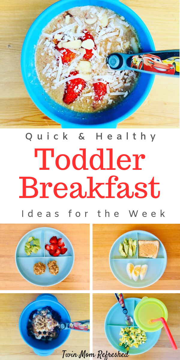 Easy And Healthy Breakfast Meal Ideas Healthy Toddler Breakfast Healthy Toddler Meals Toddler Breakfast