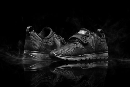 34a6cd436b70 Nike SB Trainer Endor Triple Black.