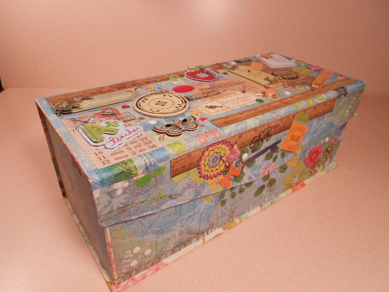 Teacher Custom Keepsake Box