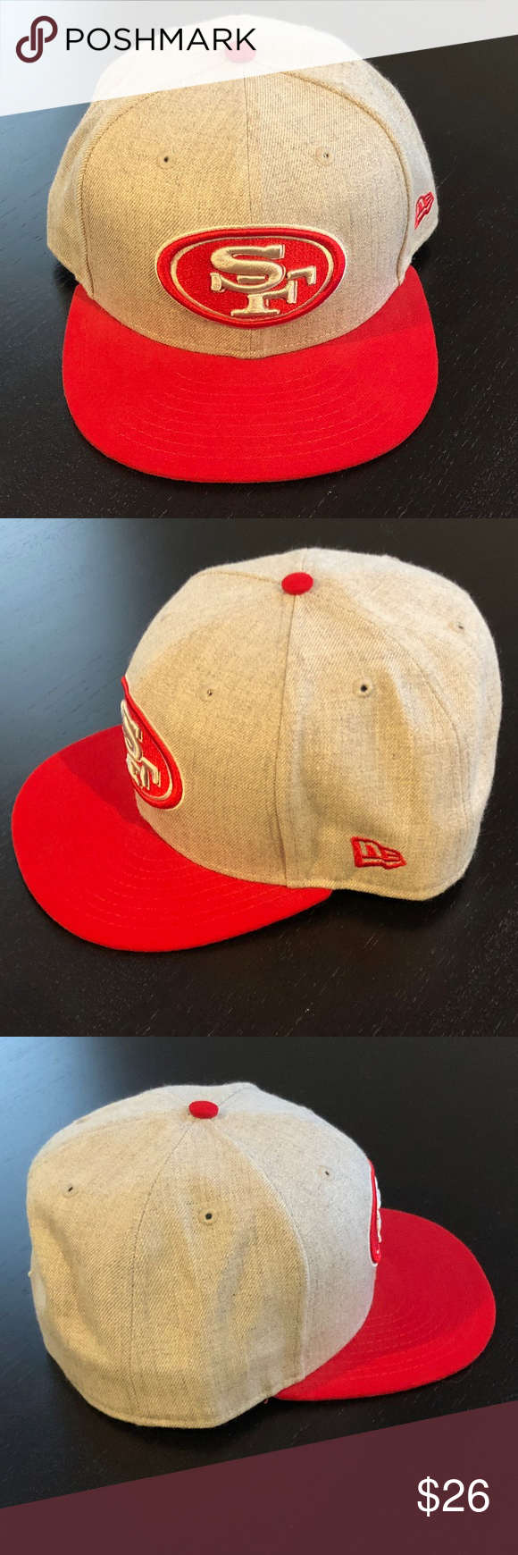 timeless design fac21 aab93 San Francisco 49ers New Era 59Fifty Fitted Hat San Francisco 49ers New Era  59Fifty Fitted Baseball