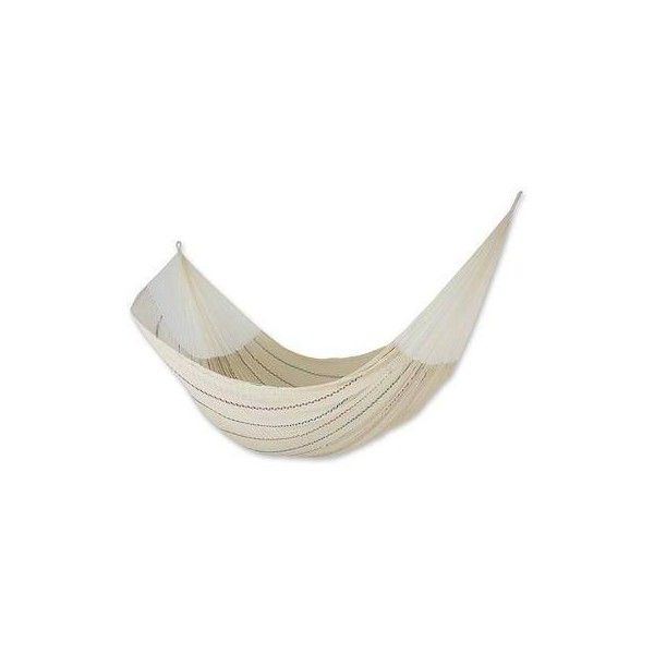 novica unique cotton mayan hammock  double   1 510 nok      liked on polyvore novica unique cotton mayan hammock  double   1 510 nok      liked      rh   pinterest