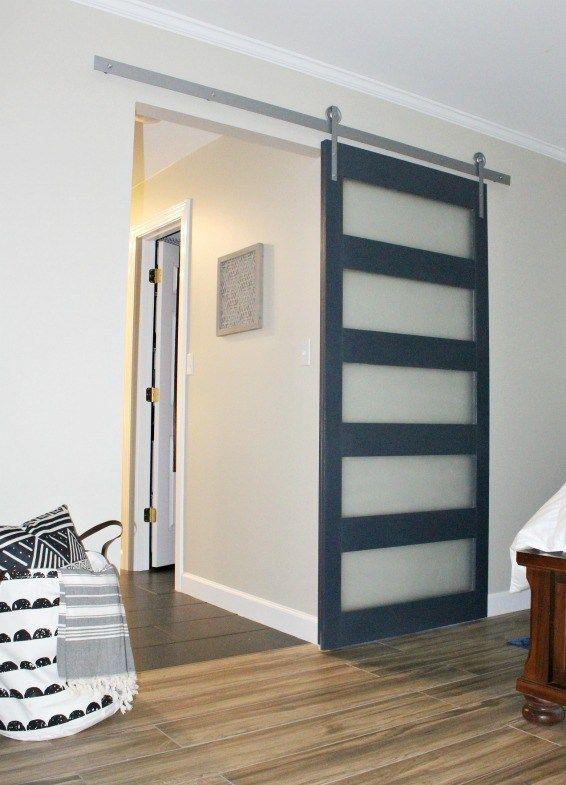 How To Build A Diy Modern Sliding Door Doors Pinterest Doors