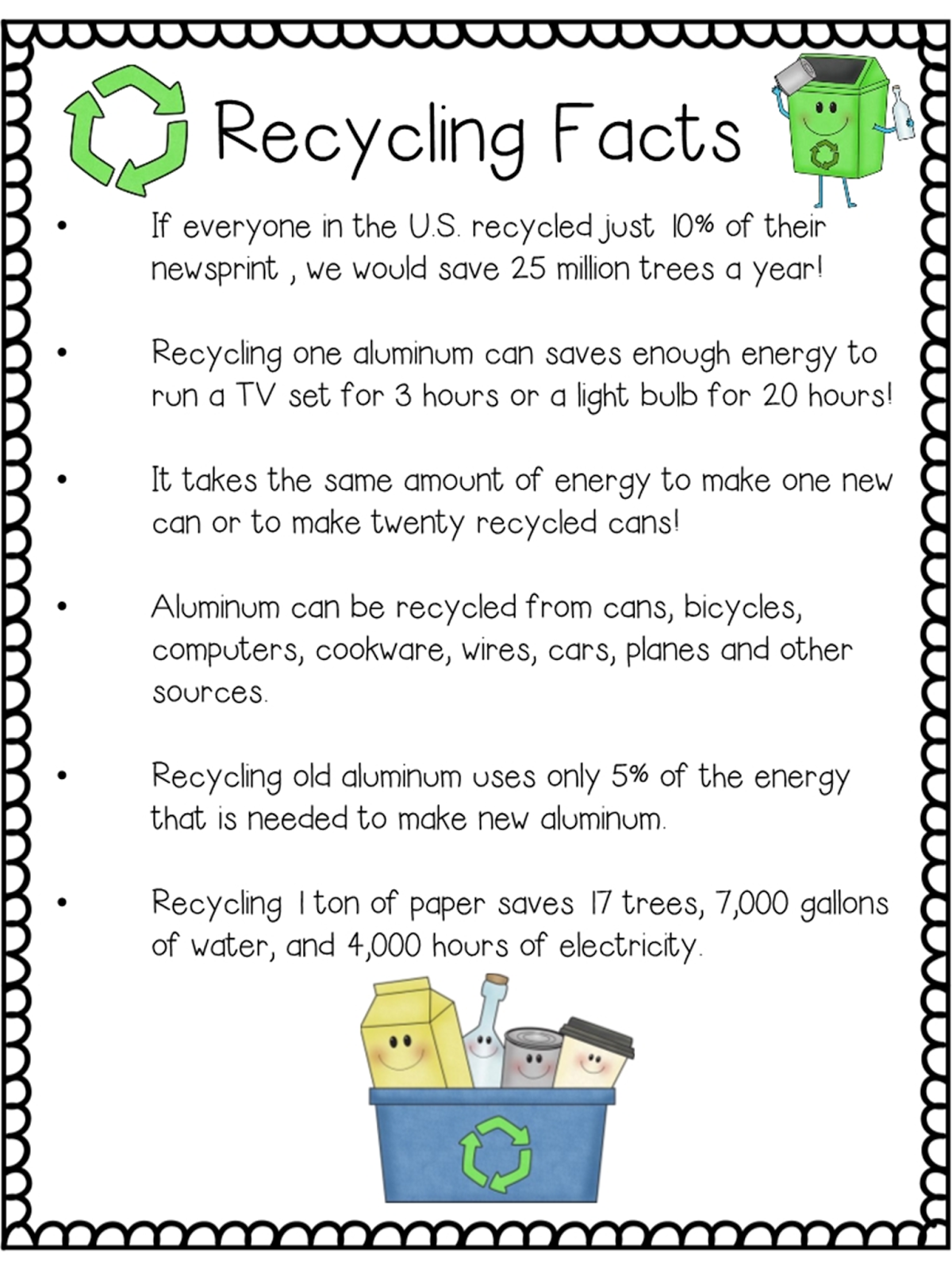 Earthday Projects For Kids Recycled Crafts