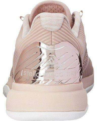 luce rosa adidas, stella mccartney barricate delle scarpe da tennis
