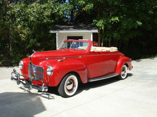 Dodge:1940 2 door convertible