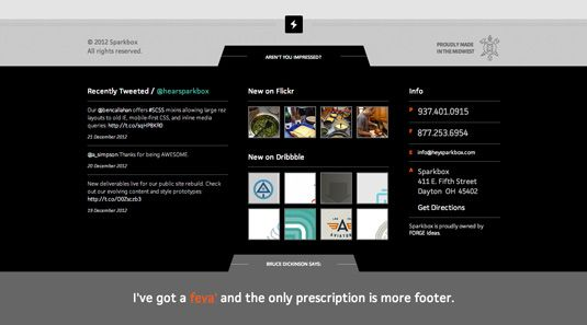 16 great examples of website footer design - Great Website Design Ideas