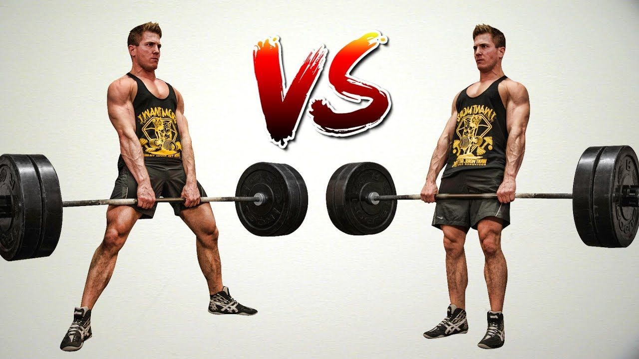Sumo Deadlift Vs Conventional Deadlift Which Builds More Power Strength Youtube Deadlift Muscular Strength Gym Life