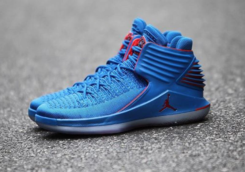 45596558cd2d The Air Jordan 32 Russ is featured in a detailed look and it s dropping on  November