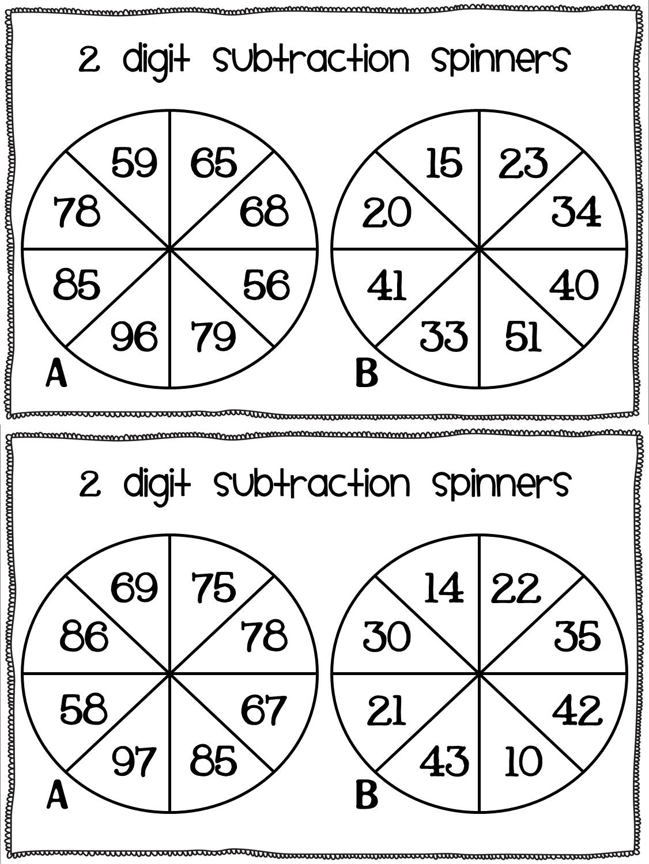 Subtraction freebie! Math subtraction, Math addition