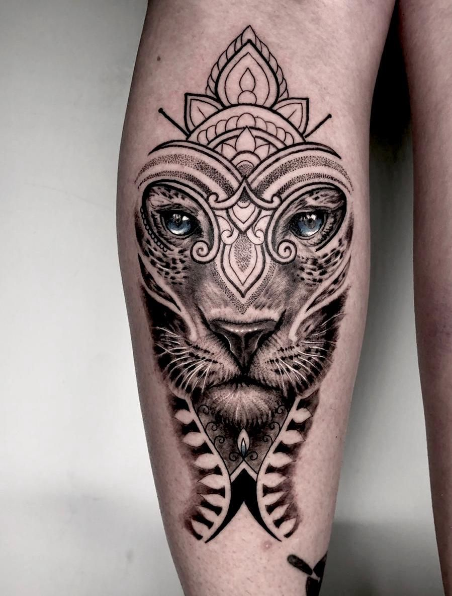 Big Cat by Charlie Rose Tattoo Canggu Bali in 2020 (With