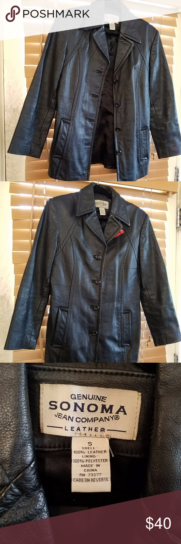 Men S Leather Kohl S Coat Jacket S Dean Winchester Sonoma Jeans Coats Jackets Leather Men [ 1740 x 580 Pixel ]