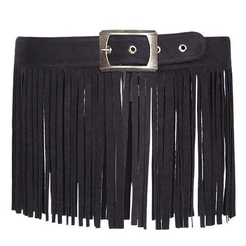 Sexy Women Black Tassel Boho Gothic Waist Belt Clothing Accessories SKU-71107008