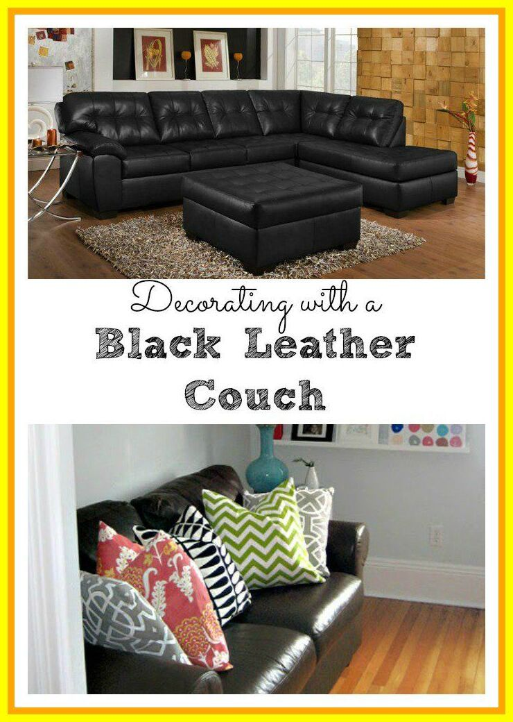 67 Reference Of Black Sofa Chair Home Decor In 2020 Black Leather Couch Living Room Leather Couch Living Room Decor Leather Couches Living Room