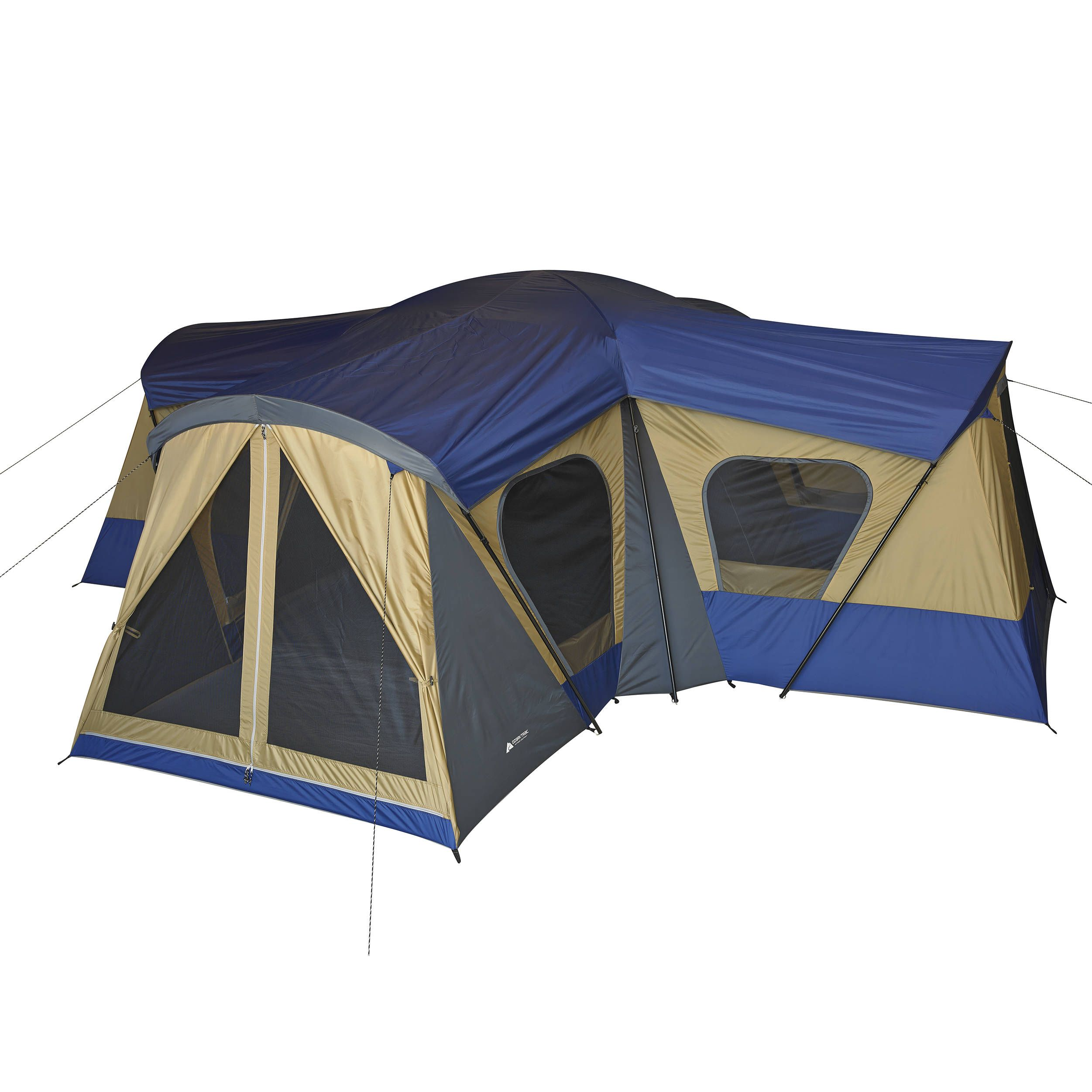 Free 2 day shipping buy ozark trail base camp 14 person for What is a tent cabin