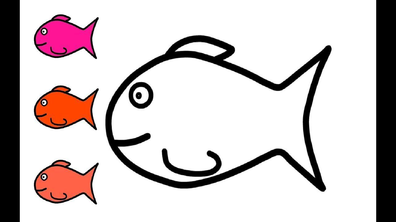 Wie Zeichnet Man Bunter Fisch Zeichnen Und Ausmalen Fur Kinder Fische Zeichnen Bunte Fische Ausmalen Fur Kinder