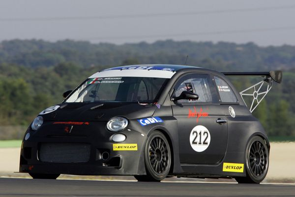 Fiat 500 Abarth Endurance Race Fiat Racing Cars Pinterest