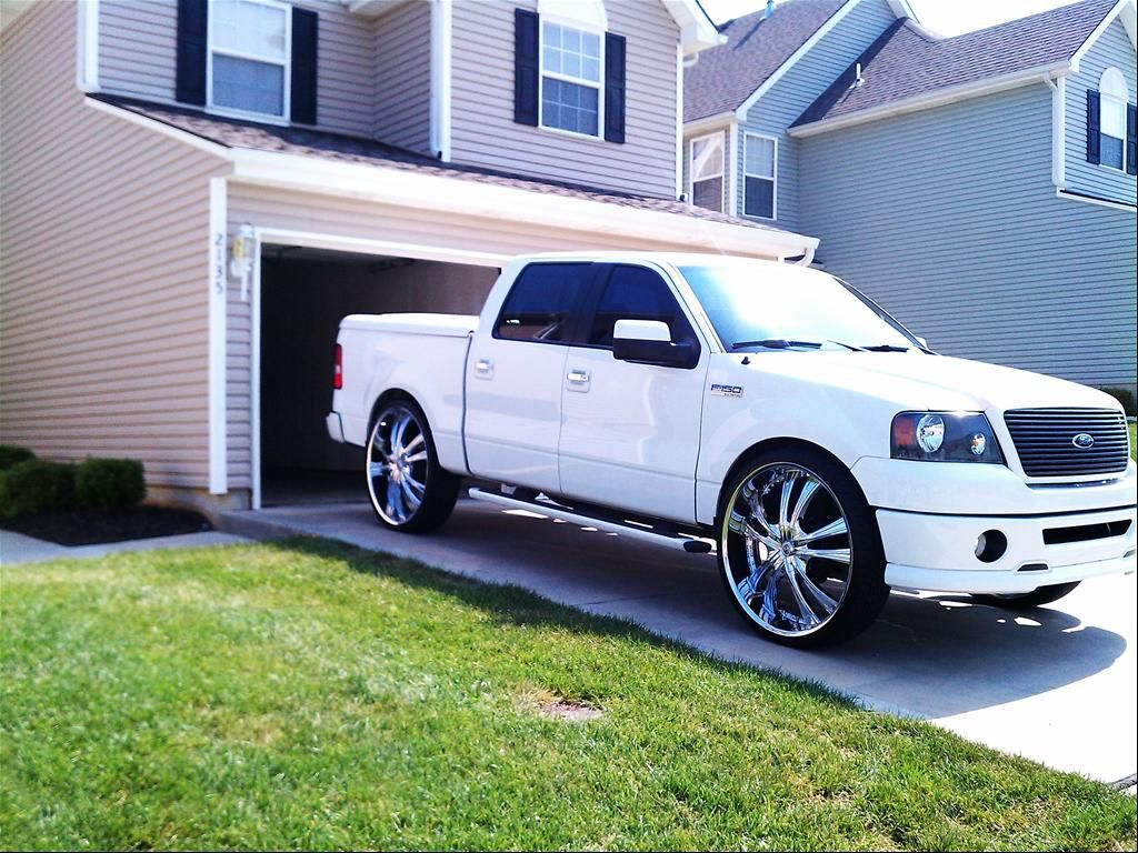 "F150 Rims 2008 Ford F150 SuperCrew Cab ""30's FOR SALE"