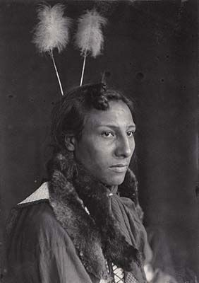 Amos Two Bulls. By Gertrude Käsebier. Photographic History Collection, National Museum of American History, Smithsonian Institution.