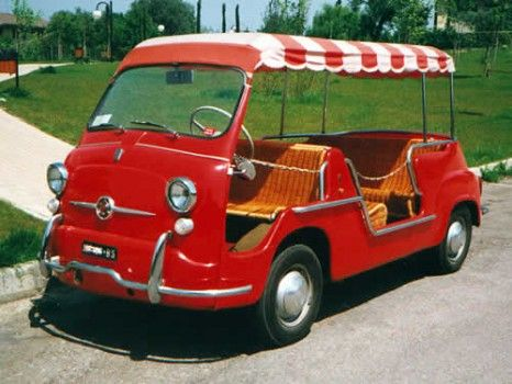 Fiat 600 Multipla Jolly D Epoca Fiat Fiat 600 Beach Cars