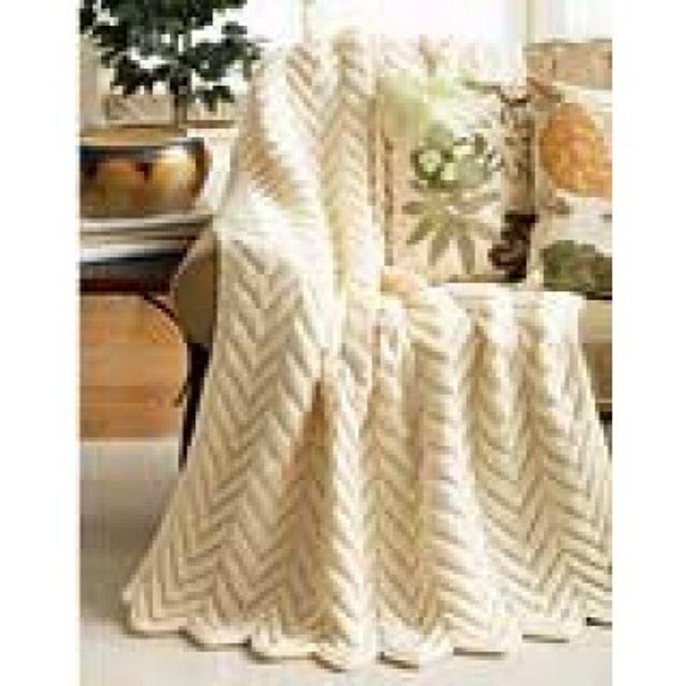Zig Zag Blanket in Bernat Super Value. Discover more Patterns by ...