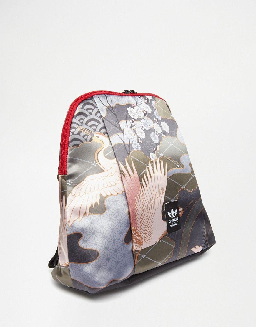 714e7091be Mochila con estampado de ppájaros Rita Ora de adidas Originals Rita Ora