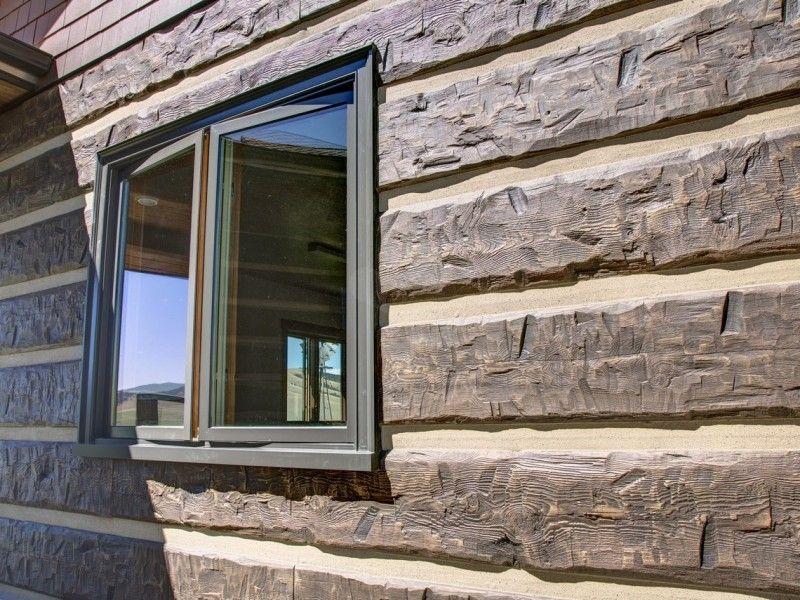 Philipsburg Montana Residence Log Cabin Siding Log Homes