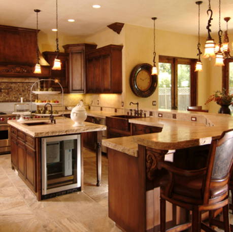 Tuscan Style Kitchens Are Famous For Inspiring Together Time With Food