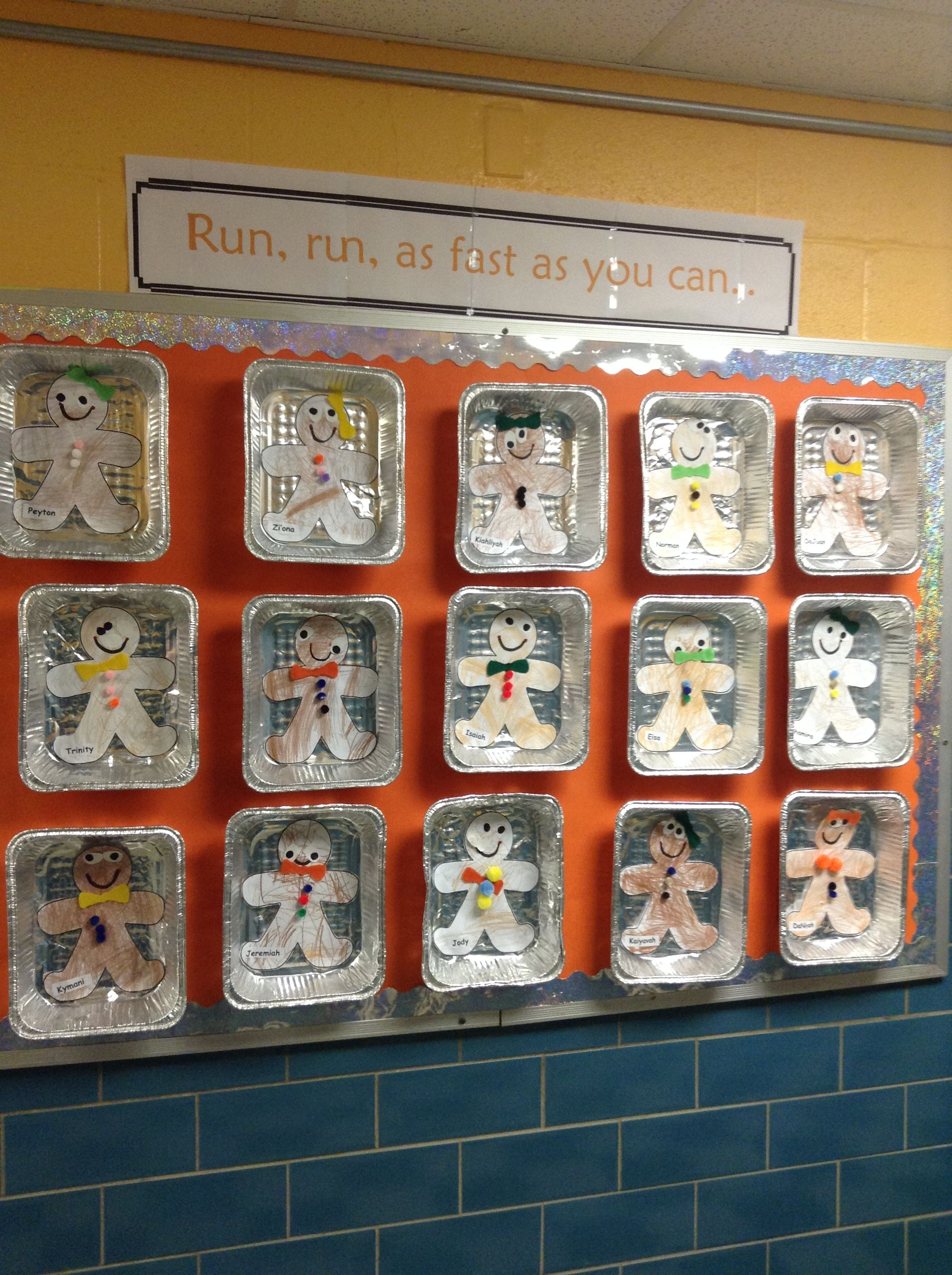 Bulletin Board For The Gingerbread Man