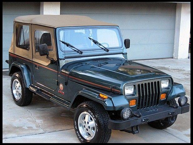 1993 Jeep Wrangler Sahara I Use To Want One Sooo Bad Jeep Yj Jeep Wrangler Jeep Wrangler Sahara