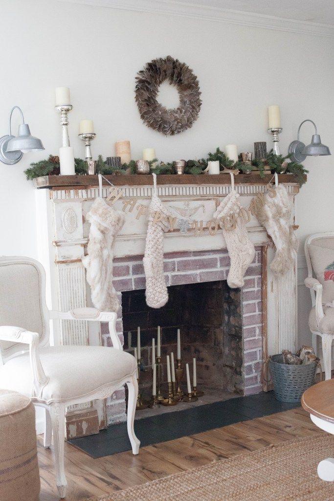 Home   Farmhouse Inspired Christmas Blog Tour Christmas living - christmas home decor