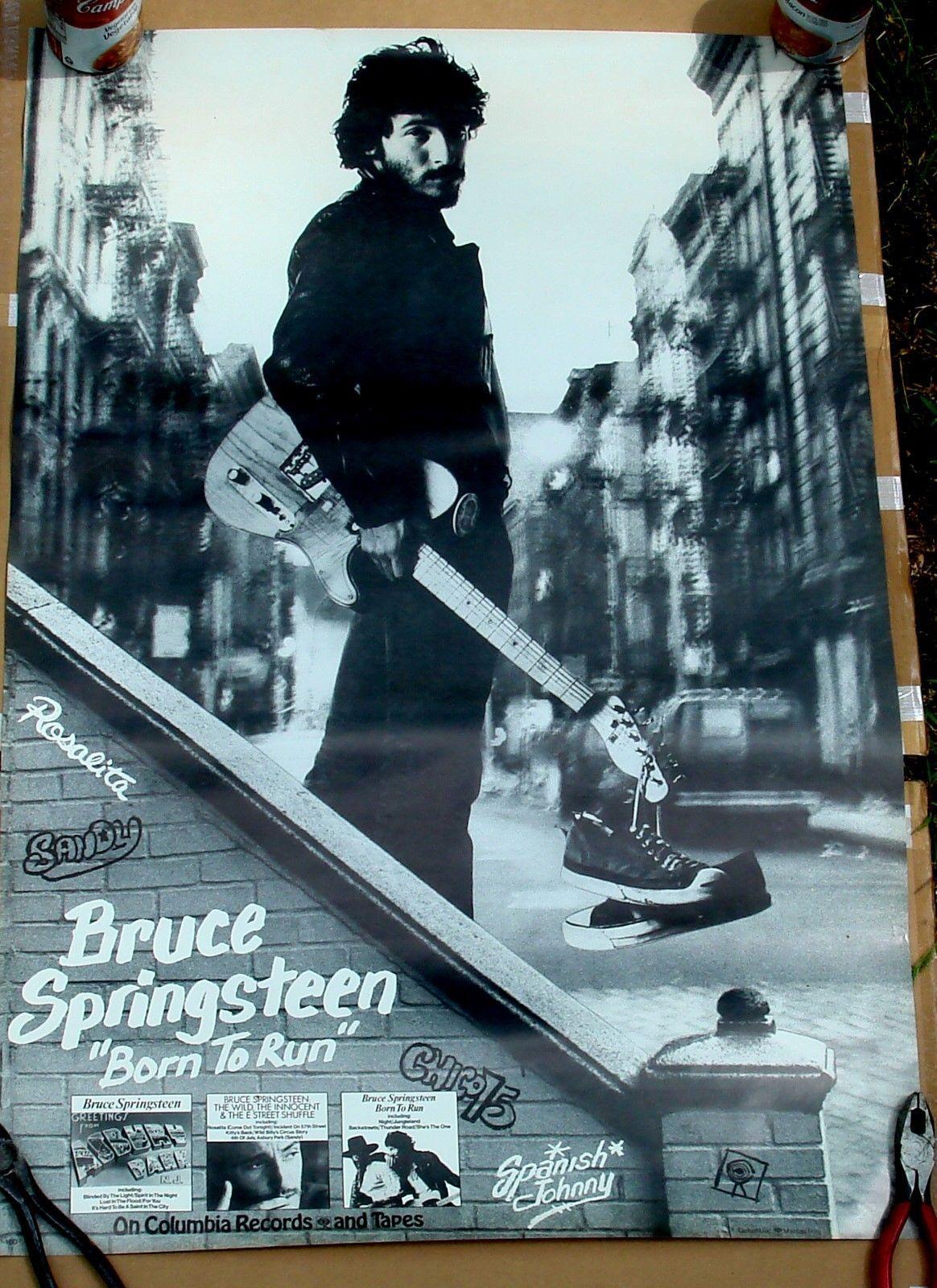 Bruce Springsteen - Born Run Usa Columbia 1975