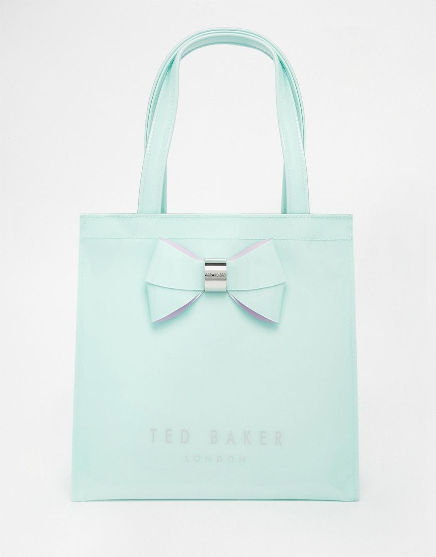 dca4ba8f79c7 Image 1 of Ted Baker Small Icon Bag In Mint