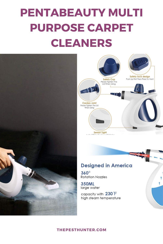 PentaBeauty Multi Purpose Carpet Cleaners in 2020 Steam