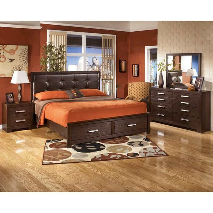4 Piece Aleydis King Bedroom Set Nebraska Furniture Mart