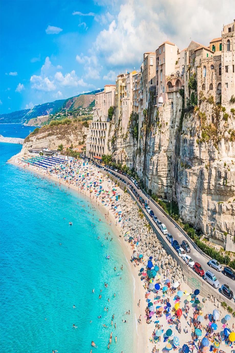 Marasusa Beach The Jewel Of Calabria And Christened Beautiful Sea