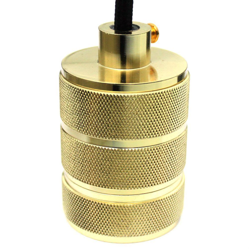 E gold xl pendant light fitting screw industrial lamp bulb holder