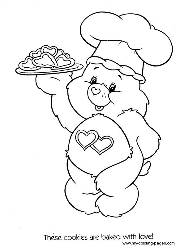 care bear baby coloring pages - photo#23