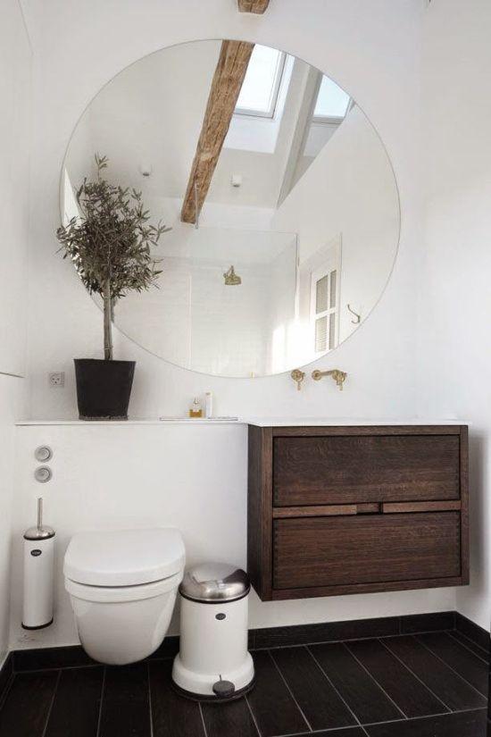 73 ideas de decoraci n para ba os modernos peque os 2019 inspira hogar ba os modernos for Accesorios para decorar banos pequenos