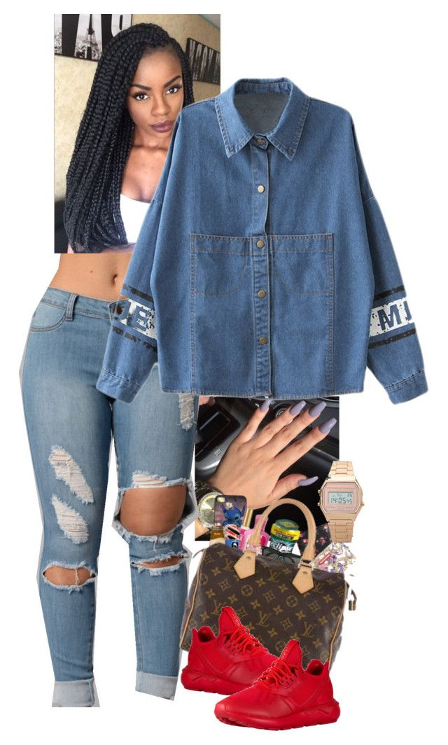 """""""BLUE JEAN"""" by fightnight ❤ liked on Polyvore"""