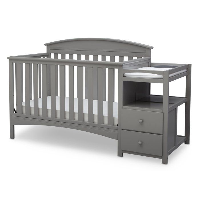 Abby 4 In 1 Convertible Crib And Changer In 2020 Convertible Crib Best Baby Cribs Baby Cribs Convertible