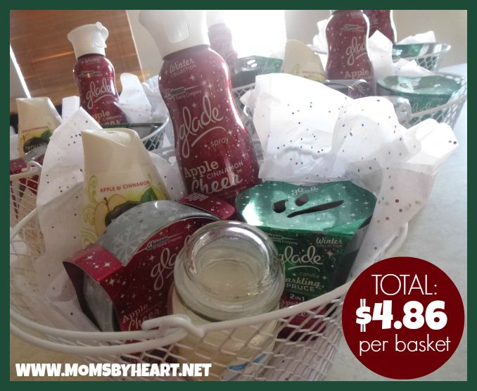The $10 Gift Basket Challenge Results: Total $4.86 per Basket! Use coupons & store sales to create your own baskets on-the-cheap!