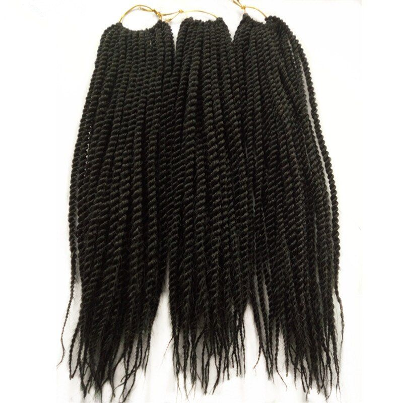 3Pack 12″ 18″ Natural Black Micro Senegalese Twist Crochet Braids Hair 30Root Esprit Beauty Synthetic Braiding Hair Extensions    !!!Attention!!! valid discount 0% buy now for: 12.69$ #crochetsenegalesetwist