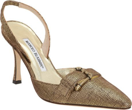Manolo Blahnik Green Fibbione Green-- I'd wear the heck out of these!